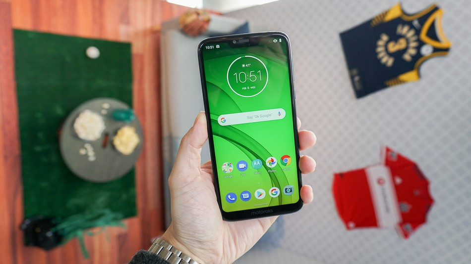 صفحه نمایش Motorola Moto G7 power