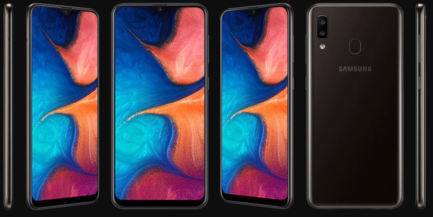 طراحی ظاهری و بدنه Samsung Galaxy A20