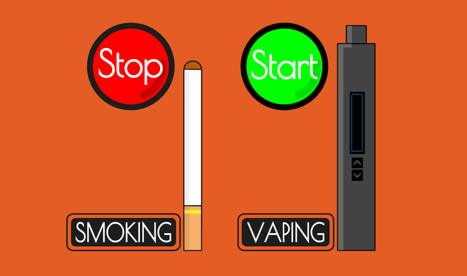 نگاهی کوتاه به تاثیر ویپ بر ترک سیگار