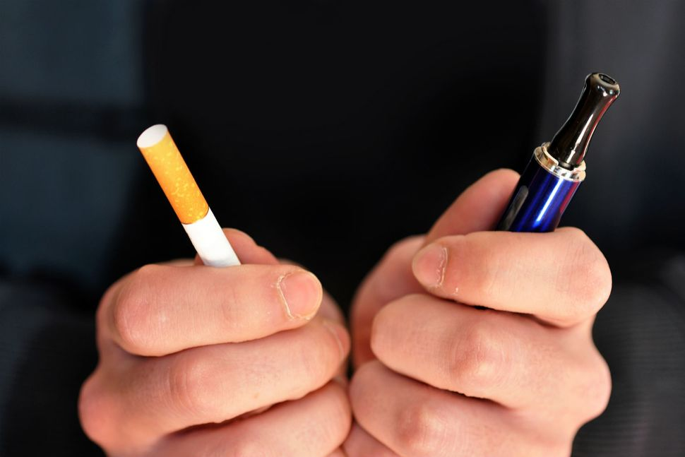 تاثیر مثبت ویپ بر ترک سیگار