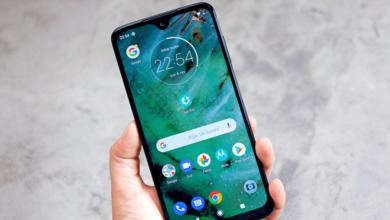 صفحه نمایش Motorola Moto G7 Plus