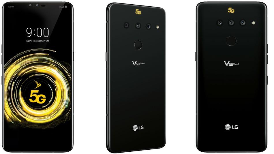 گوشی LG V50 ThinQ