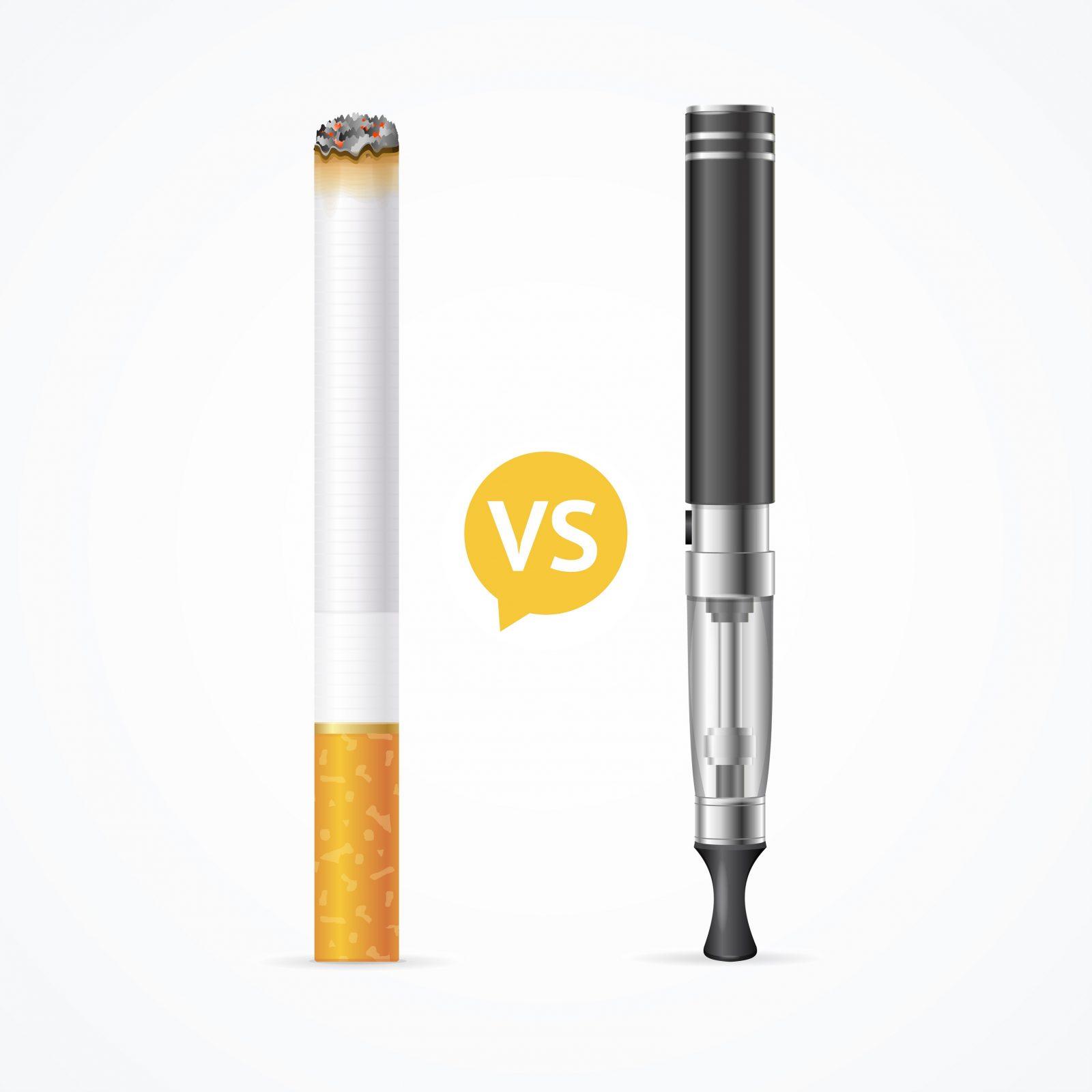 آیا نیکوتین موجود در سیگار با ویپ فرق زیادی دارد؟
