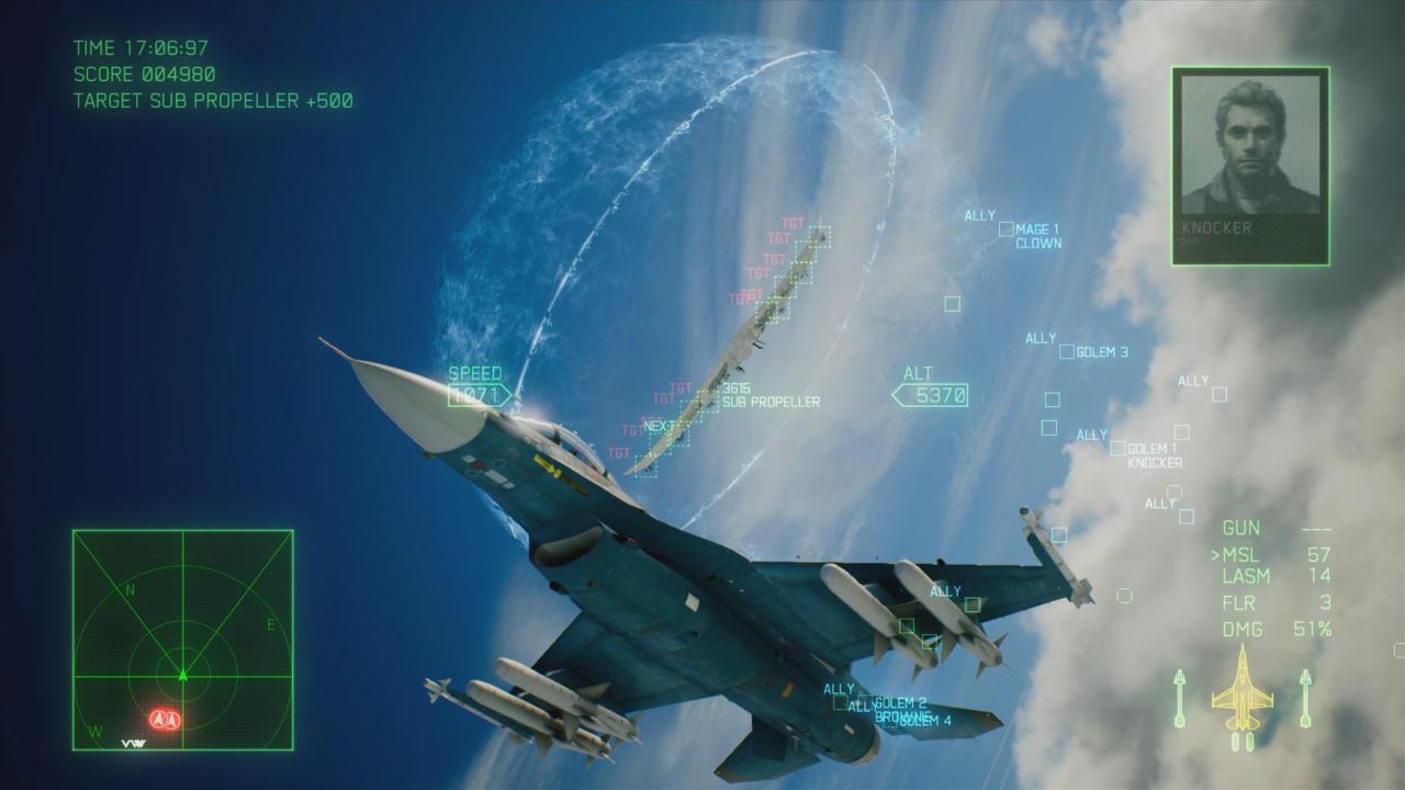 Ace Combat 7 - بهترین بازی های ps4
