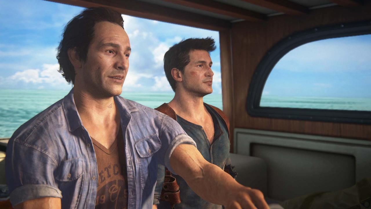 Uncharted 4 - بهترین بازی های ps4