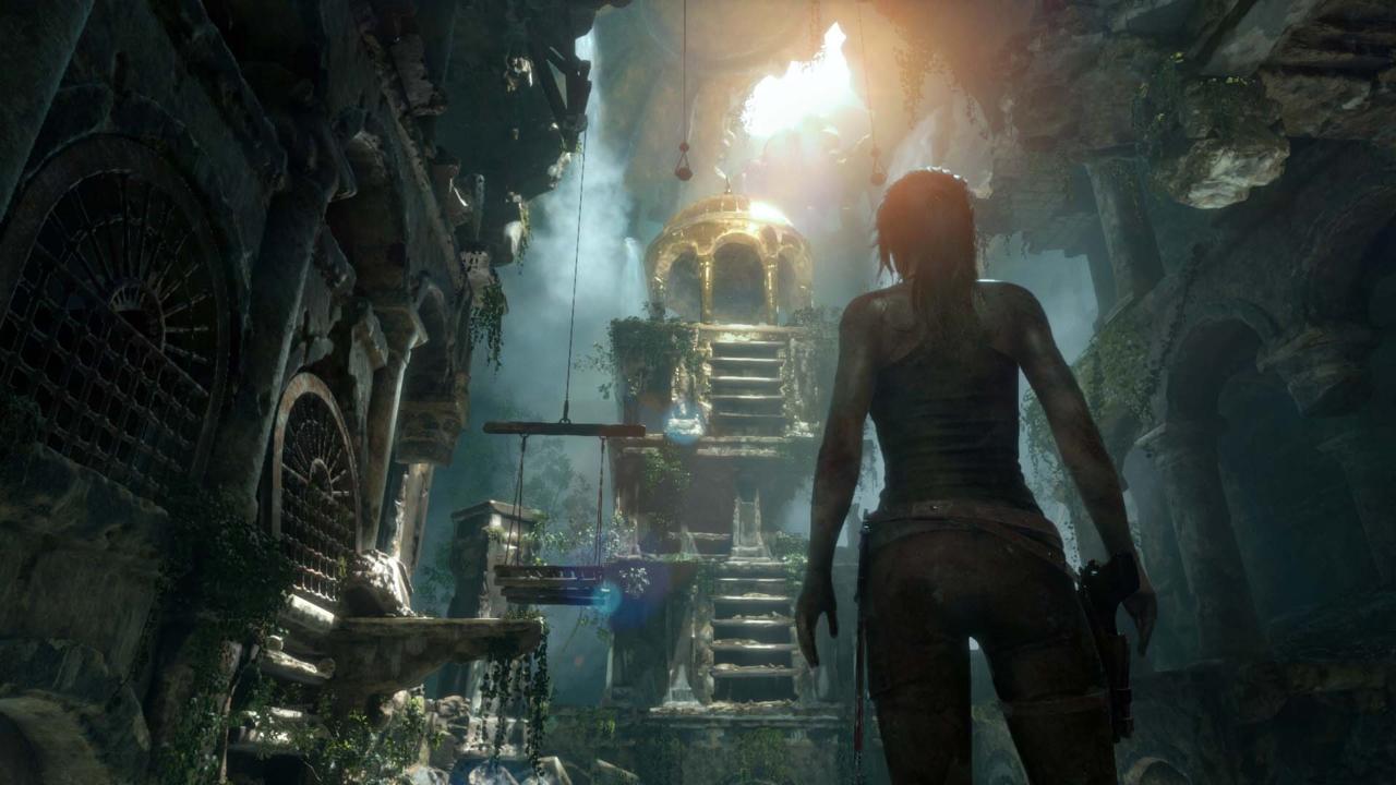 بهترین بازی های ps4 - Rise of the Tomb Raider