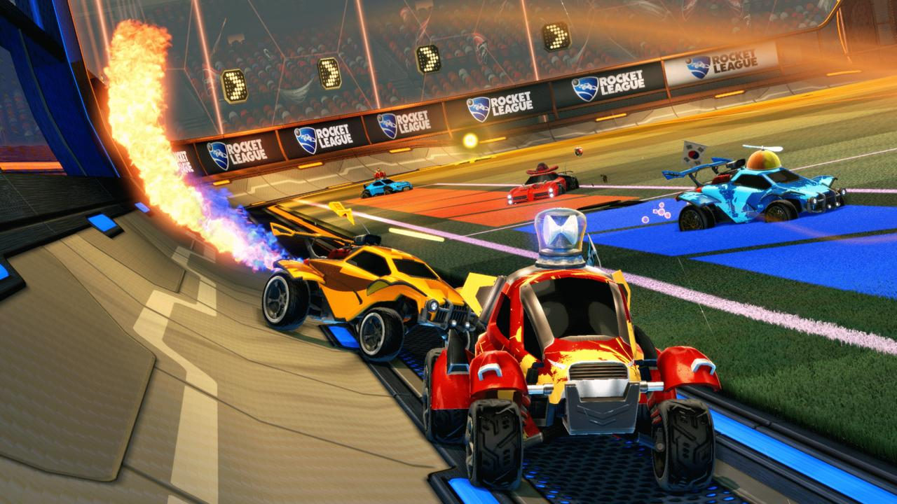 Rocket League - بهترین بازی های ps4