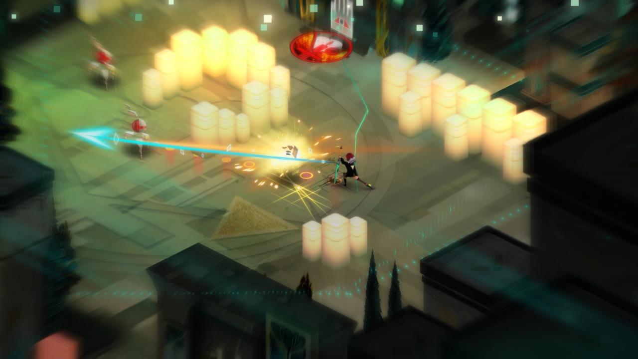 Transistor - بهترین بازی های ps4