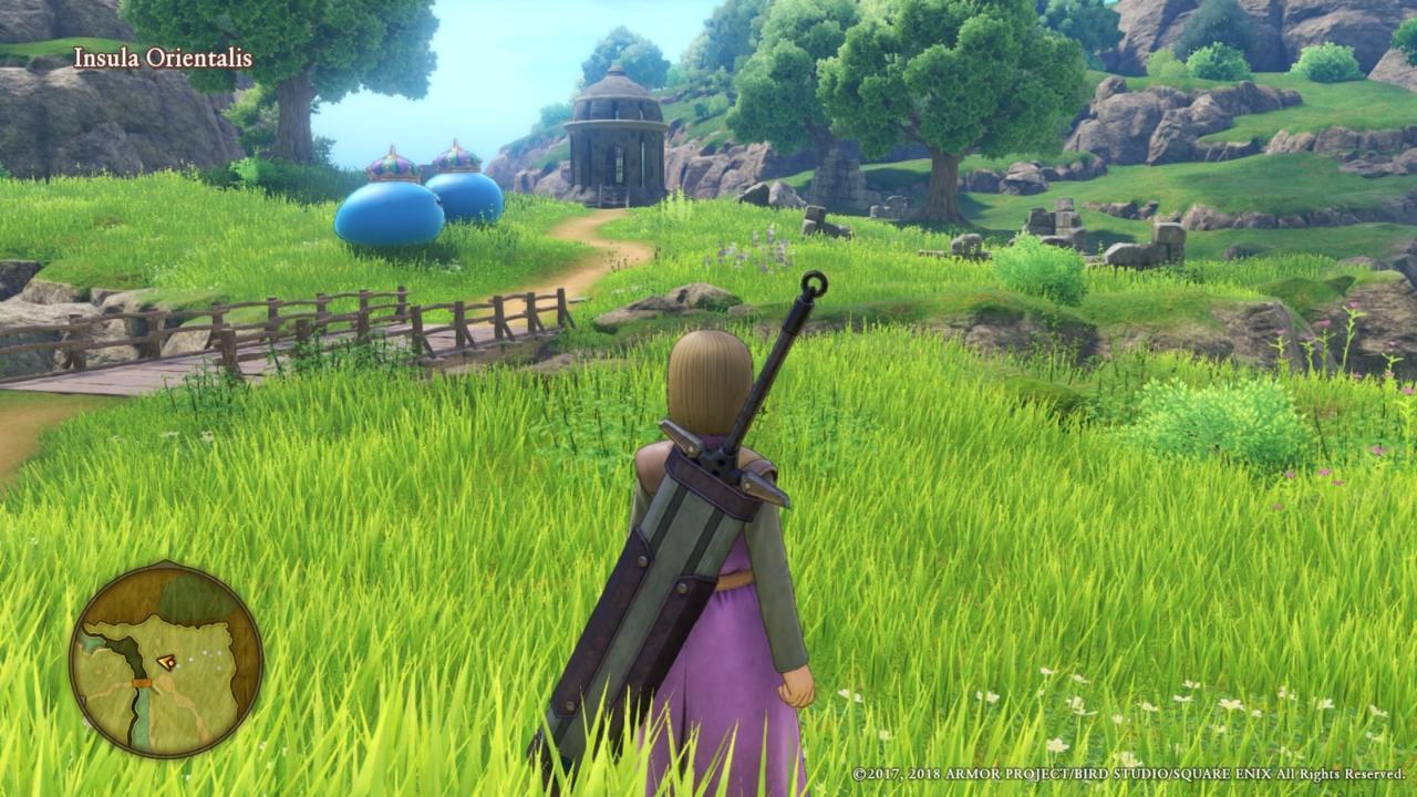 Dragon Quest XI - بهترین بازی های ps4