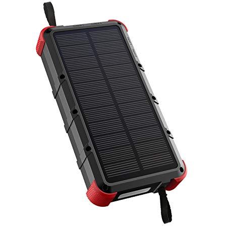 پاوربانک خورشیدی OUTXE (بیست هزار میلی آمپر)
