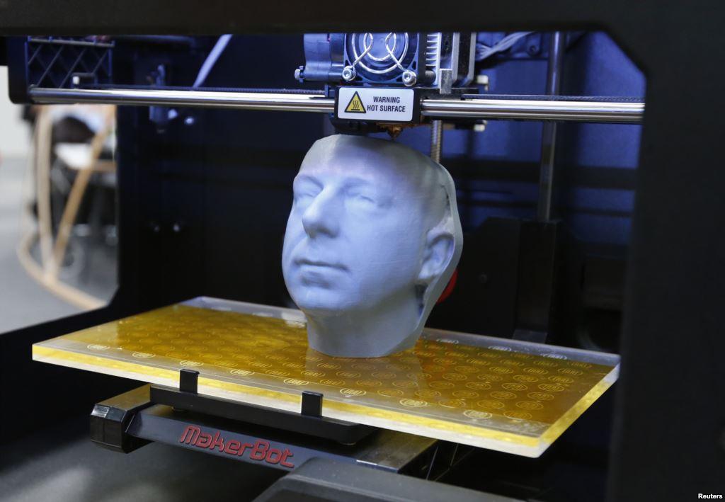 صنعت چاپ سه بعدی