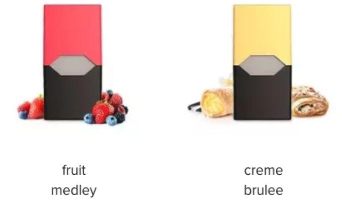 عطر و طعم های مختلف