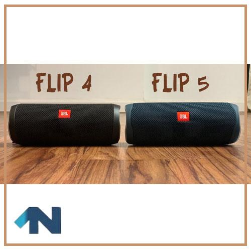 مقایسه flip4 و flip5 اسپیکر jbl