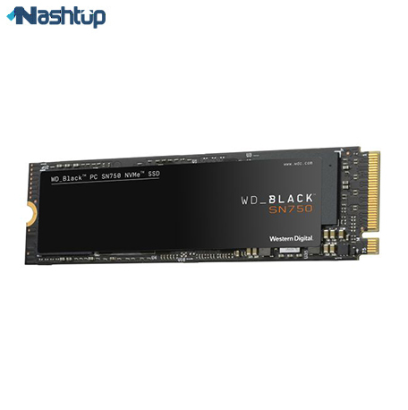 بهترین حافظه SSD ، انتخاب مناسب برای گیمینگ : وسترن دیجیتال مدل Black SN750 NVMe SSD