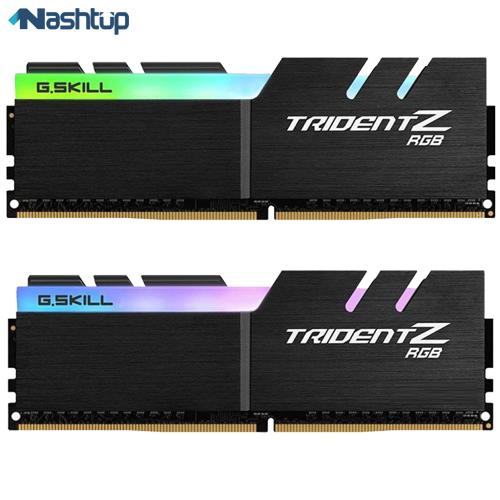 بهترین مارک رم کامپیوتر، بهترین انتخاب از نوع DDR4 : جی اسکیل سری Trident Z RGB