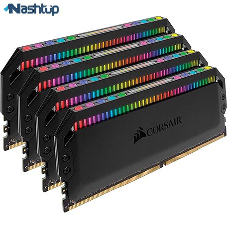 بهترین مارک رم کامپیوتر، بهترین انتخاب سطح بالا : کورسیر سری Dominator Platinum RGB