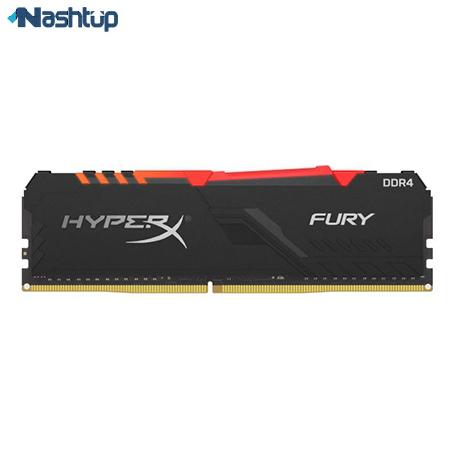 بهترین مارک رم کامپیوتر، بهترین انتخاب فرکانس بالا : کینگستون سری Hyper X Fury 3733MHz