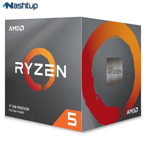 پردازنده مرکزی ای ام دی مدل Ryzen 5 3600 :