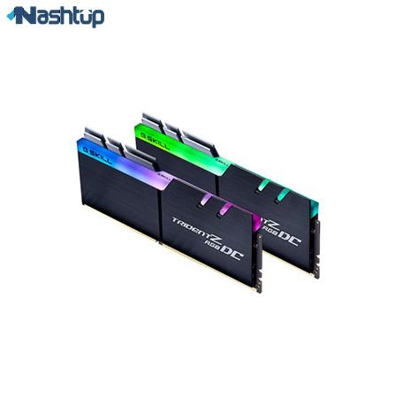 بهترین مارک رم کامپیوتر، بهترین انتخاب دو برابر ظرفیت : جی اسکیل سری Trident Z RGB DC
