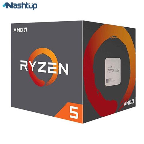 پردازنده مرکزی ای ام دی مدل Ryzen 5 2600 :