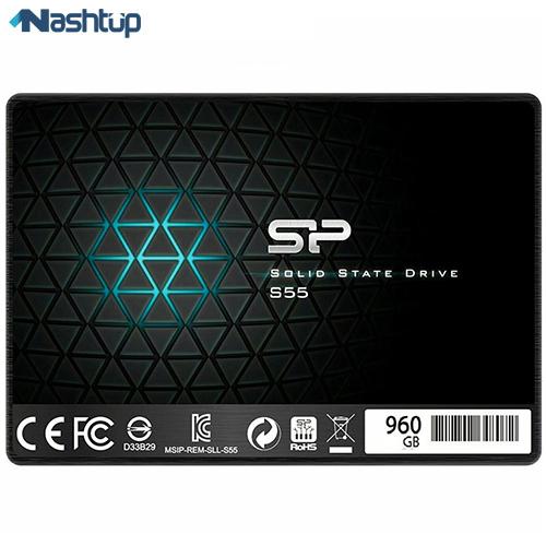 اس اس دی اینترنال سیلیکون پاور مدل Slim S55 ظرفیت 960 گیگابایت :