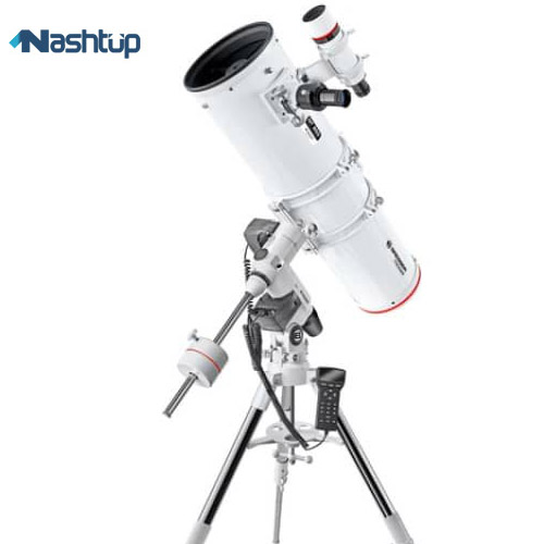 تلسکوپ  Bresser Messier Newtonian NT203 on Exos 2 Mount :
