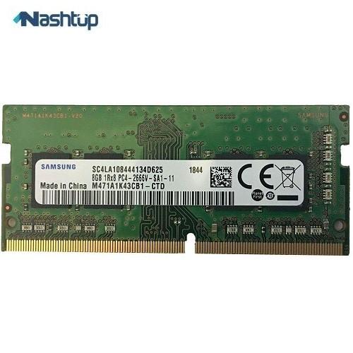 رم لپ تاپ سامسونگ مدل 8GB SODIMM :