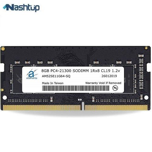 رم لپ تاپ آدامانتا مدل 8GB DDR4 Notebook RAM :