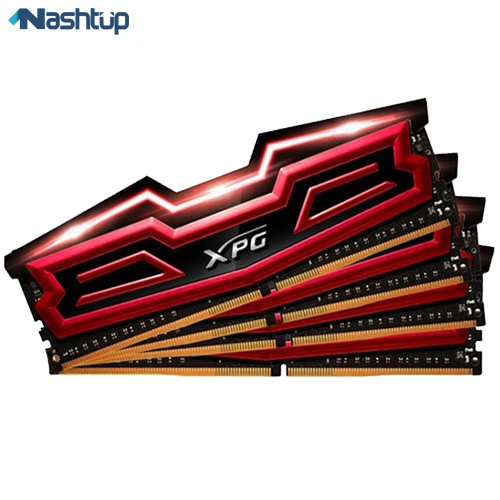 رم ای دیتا مدل XPG Dazzle DDR4 2400MHz CL16 Quad Channel :