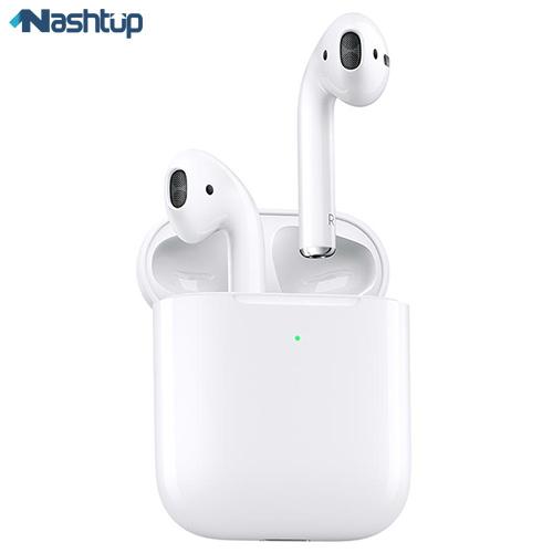 هندزفری بلوتوث اپل مدل AirPods 2 with Wireless Charging Case