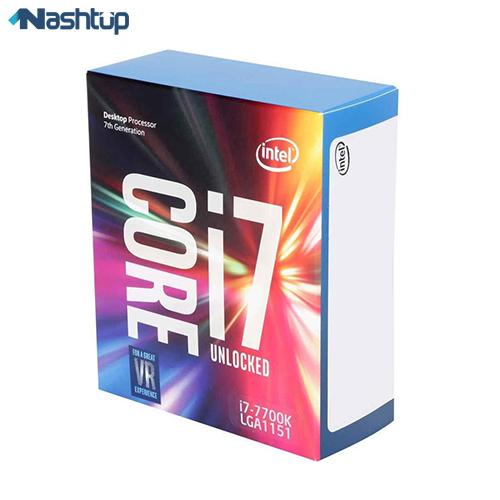 پردازنده مرکزی اینتل مدل Core i7-7700K :