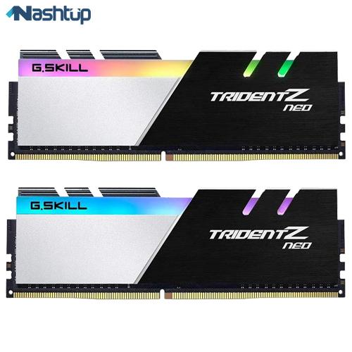 جی اسکیل و مشخصات رم کامپیوتر Trident Z Neo را از دست ندهید