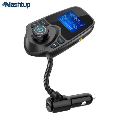 شارژر فندکی بلوتوث دار ، انتخاب چهارم : Nulaxy Bluetooth Car KM18