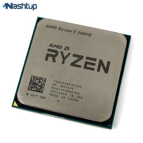 پردازنده ای ام دی مدل Ryzen 5 2600X :