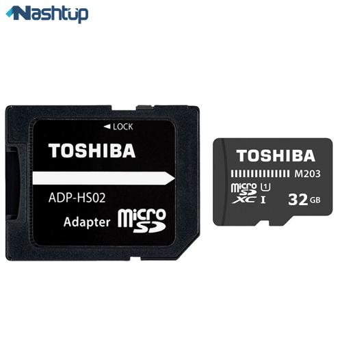 کارت حافظه توشیبا مدل M203 ظرفیت ۳۲ گیگابایت :