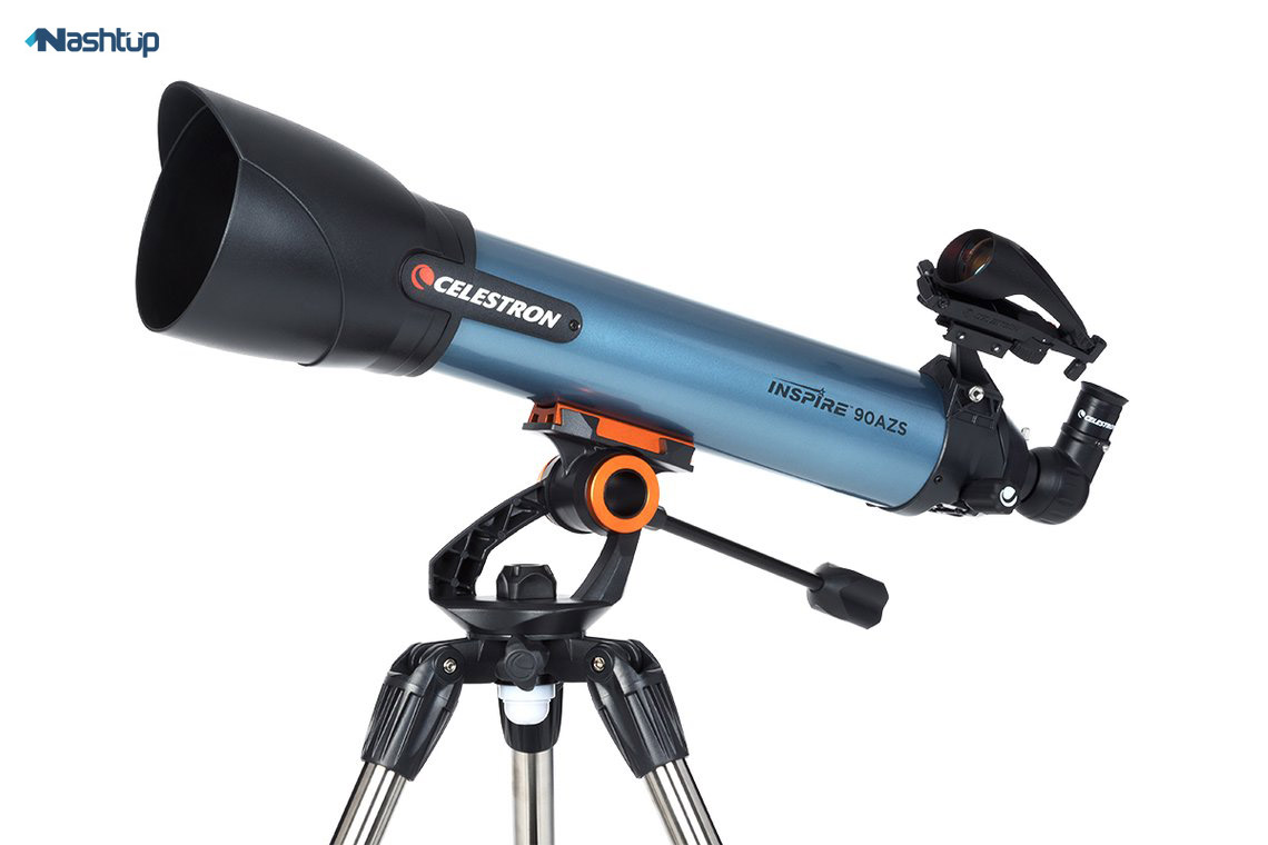 تلسکوپ Celestron Inspire 90mm AZ Short Refractor :