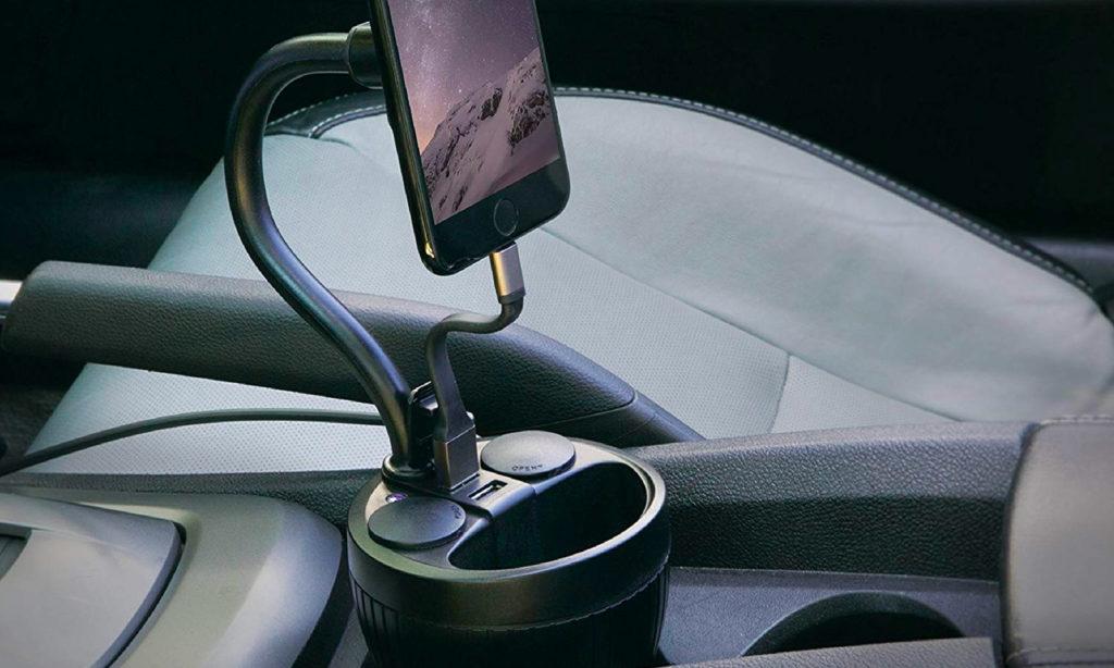 آموزش نصب هولدر موبایل در قسمت جا لیوانی ماشین